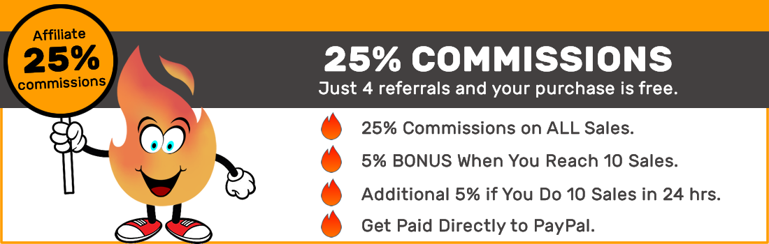 Earn commissions with our affiliate program.