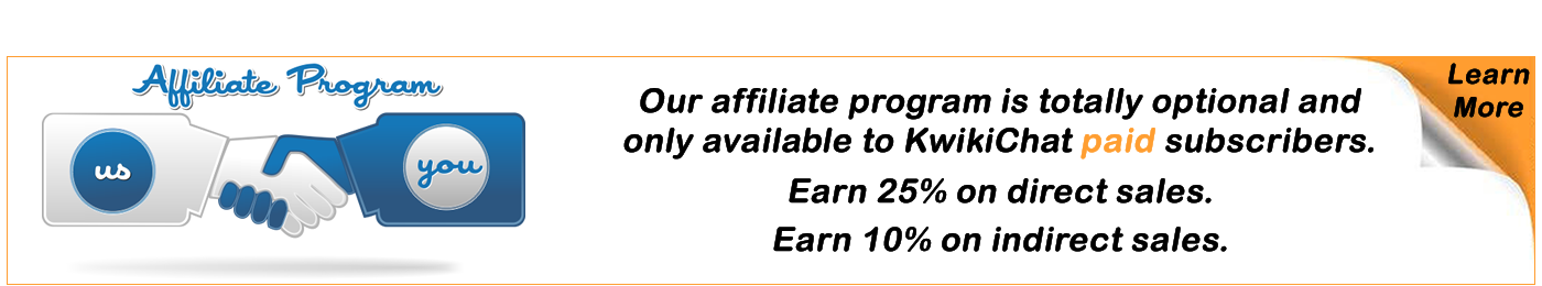 Join our affiliate program and earn commissions.